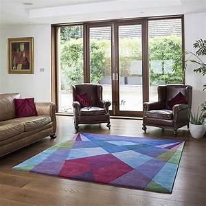 Tapis Salon Moderne : tapis de luxe moderne et design tapis haut de gamme ~ Teatrodelosmanantiales.com Idées de Décoration