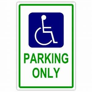 handicap parking 101 handicap parking sign templates With disabled parking template
