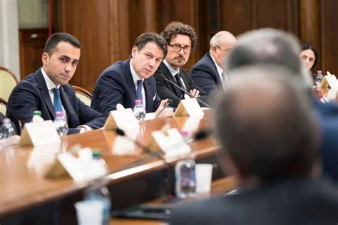 Decreto Presidente Consiglio Dei Ministri by Il Decreto Sblocca Cantieri Mercoled 236 In Consiglio Dei