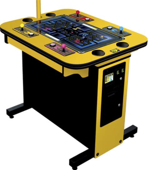 pac man arcade cabinet pac man battle royale 4 player arcade game out now