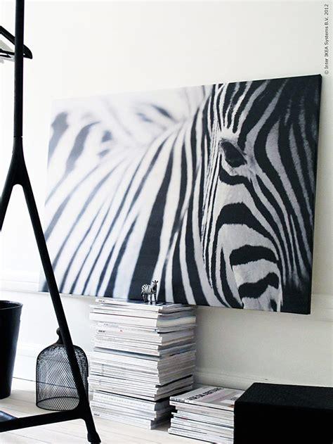 Zebra Bild Ikea by En Zebra P 229 Modet Ikea Livet Hemma Inspirerande