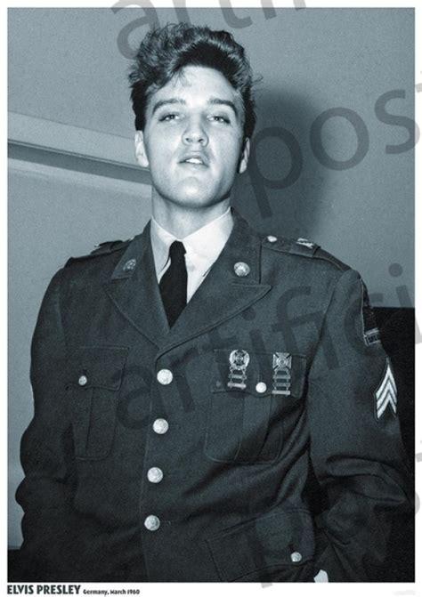elvis presley posters elvis presley army uniform poster