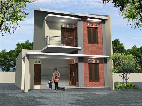 gambar desain eksterior rumah mewah minimalis terbaru