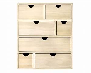 Rangement Tiroir Bois : boite en bois rangement ~ Edinachiropracticcenter.com Idées de Décoration