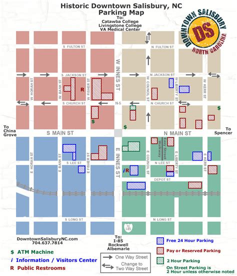 salisbury n c offender map parking transportation downtown salisbury inc
