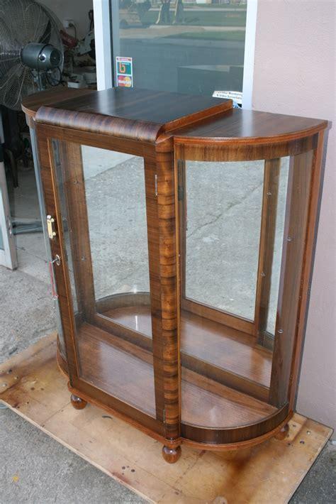 Art Deco Display Cabinet 6   Clarelle Furniture Restoration