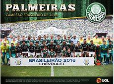 Palmeiras Campeão brasileiro de 2016 Pôsteres UOL