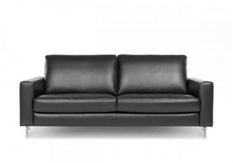 canape da canapé de taille edd 2 5 places cubique en cuir
