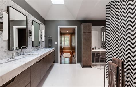 chevron bathroom ideas chevron pattern craze how to pull it off at home