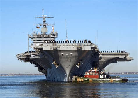 americas  powerful aircraft carriers
