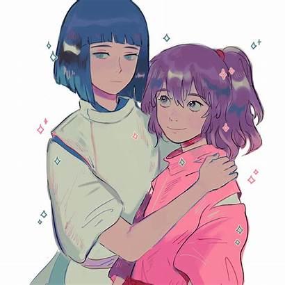 Anime Spirited Away Ghibli Studio Chihiro Sen