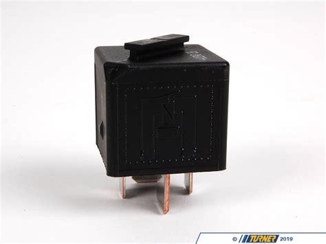 genuine bmw relay black turner motorsport