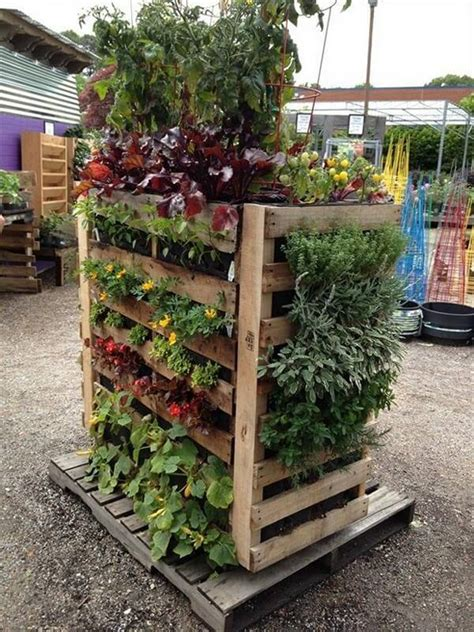Diy Pallet Herb Garden Ideas For Today
