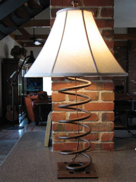edgy  industrial table lamps