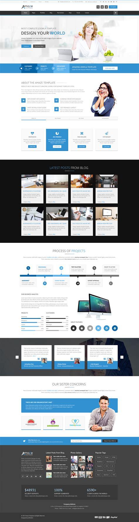 amaze corporate responsive multipurpose joomla template torrent amaze corporate responsive multi purpose joomla template