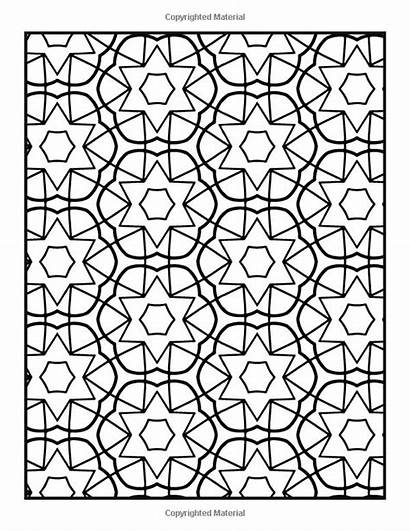 Coloring Patterns Easy Repeating Pattern Books Pages