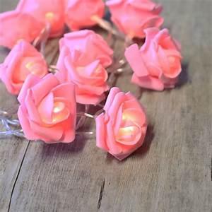 Guirlande Lumineuse Boule Rose : guirlandes lumineuses roses rose led ~ Melissatoandfro.com Idées de Décoration