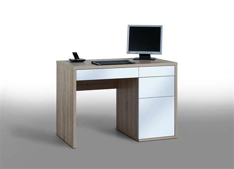 matelpro bureau promotion bureau informatique design chêne sonoma blanc