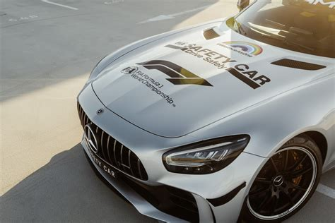 Why do it so hard ? Mercedes-AMG's Official GT R F1 Safety Car Is Now Rainbow ...