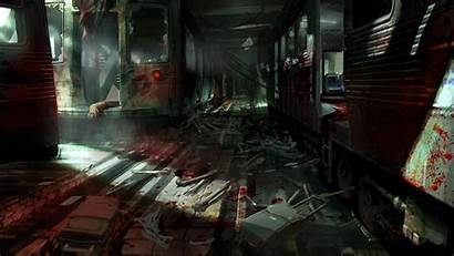 Fear Horror Wallpapers Landscape Survival Background Artwork