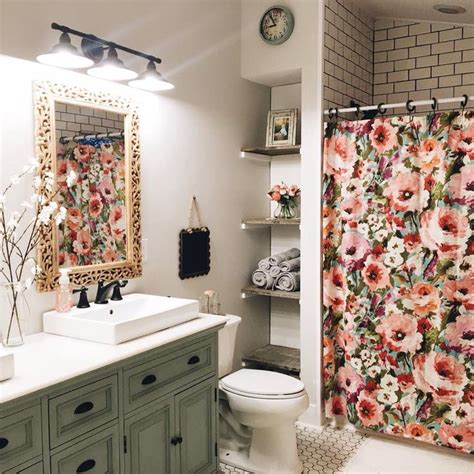 Bathroom Shower Curtain Ideas Designs by Best 20 Floral Shower Curtains Ideas On White