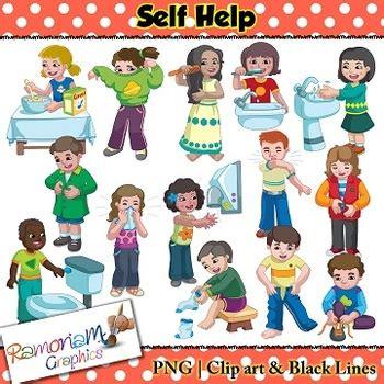 self help skills clip by ramonam graphics teachers 971 | original 3066654 1