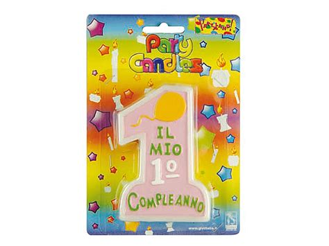 Candele Per Compleanno Candele 1 176 Compleanno Rosa