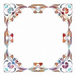 Floral Border PNG Image - PngPix