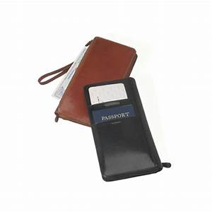 family passport and document italian leather case travel With family passport document case