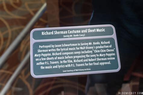sherman brothers costumes  display  walt