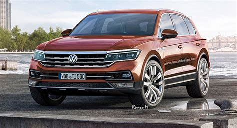 vw touareg rendered   prime gte features