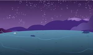 Peaceful Night Background by hunterz263 on DeviantArt