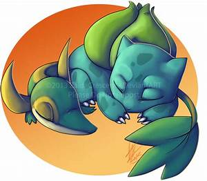 Pokemon - Bulbasaur and Snivy by ZaidaCrescent on DeviantArt