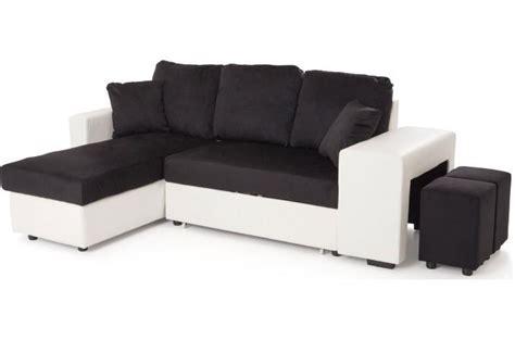 canapé d angle réversible et convertible canapé d 39 angle en eucalyptus bicolore convertible et