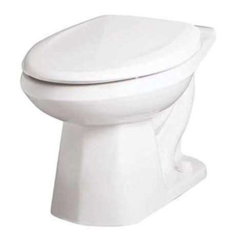 Gerber He21372 Elongated Toilet Bowl Ultra Flush White