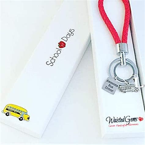 amazoncom awesome bus driver stainless steel charm key
