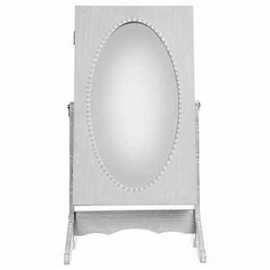Miroir à Bijoux : armoire bijoux miroir 32cm gris ~ Teatrodelosmanantiales.com Idées de Décoration