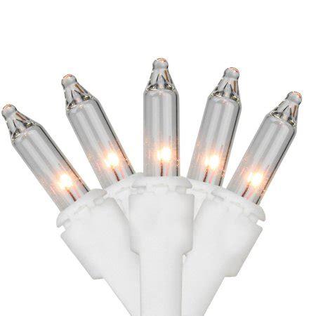 35 mini lights clear set of 35 clear mini lights white wire walmart