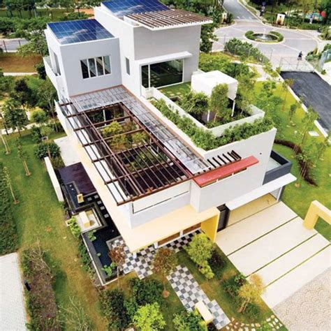 House Design Ideas With Rooftop by Rooftop Garden Solar Roof Integration Pinned By Dakwaarde