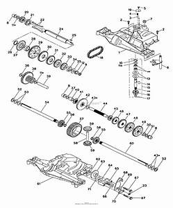 Husqvarna Lt 120  Hclt120a   954140047   1998-01  Parts Diagram For Dana Transaxle