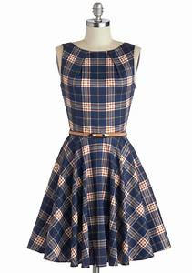 1000 images about dream closet cute casual dresses on With robes ecossaises