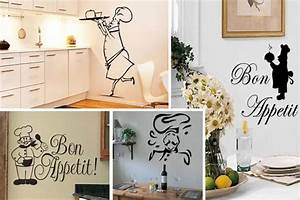 creative kitchen wall decals and stickers ideas interior With kitchen colors with white cabinets with nike foot stickers