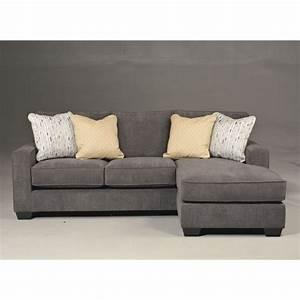 Ashley Hodan Microfiber Sofa Chaise Marble Sectional | eBay