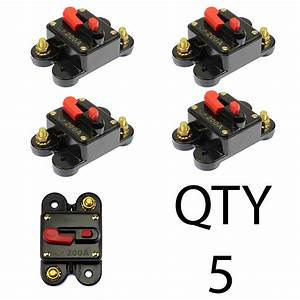5  Circuit Breaker 200 Amp With Gold Plated Terminals