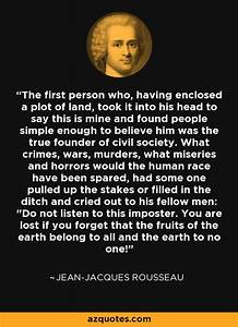 Jean-Jacques Ro... 1st Person Quotes
