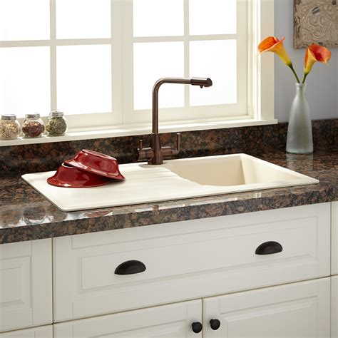 granite countertop with sink 34 quot owensboro drop in granite composite sink with drain