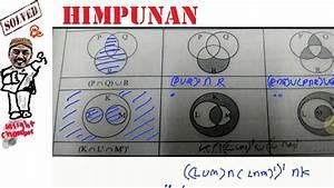 Mengarsir Dan Menentukan Himpunan Dari Diagram Venn 03