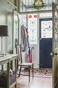 Bristol, United, Kingdom, Entry, Hallway, Ideas, Victorian, With, Umbrella, Stand, Bird, Stained, Glass