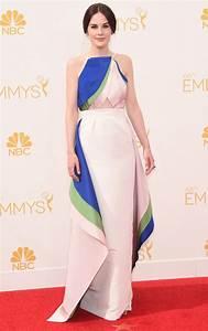 Michelle Dockery's Rosie Assoulin Emmys Dress Pictures ...