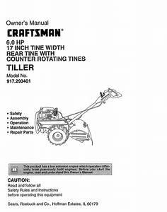 27 Craftsman Tiller Parts Diagram